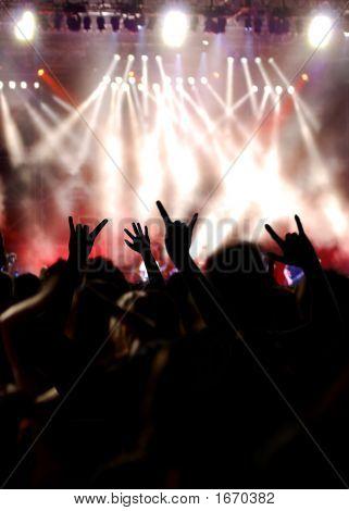 Menge Konzert