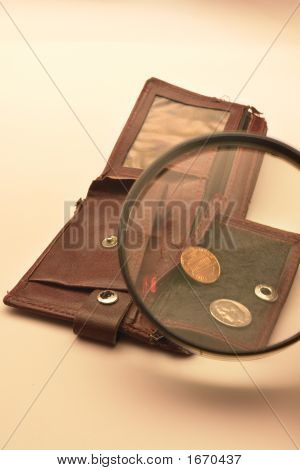 Purse With Magnifier