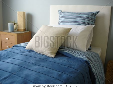 Blue Boys Bedroom