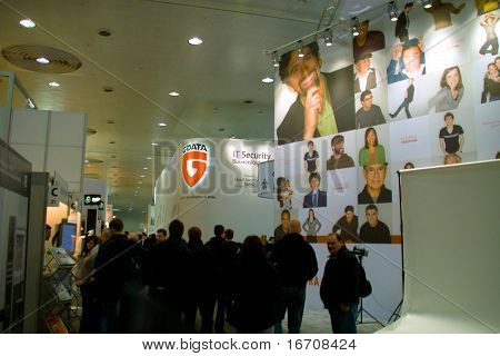 Stand Of G-data In Cebit Computer Expo