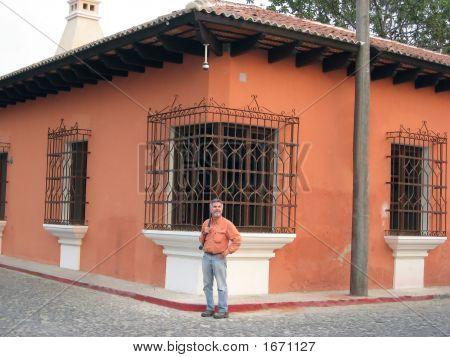 Street Corner In Antigua