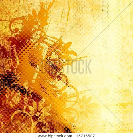 art contour grunge background. To see similar, please VISIT MY PORTFOLIO.