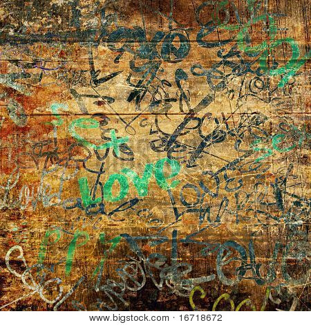 art urban graffiti raster background