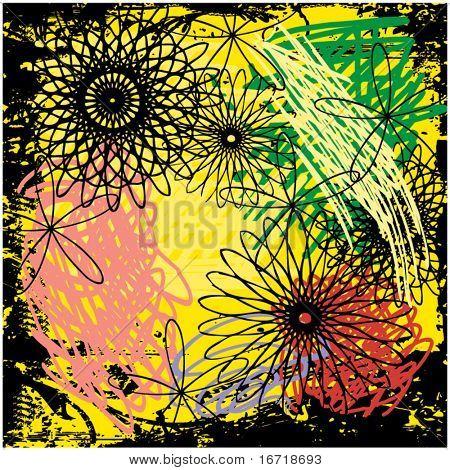 art abstract grunge  background