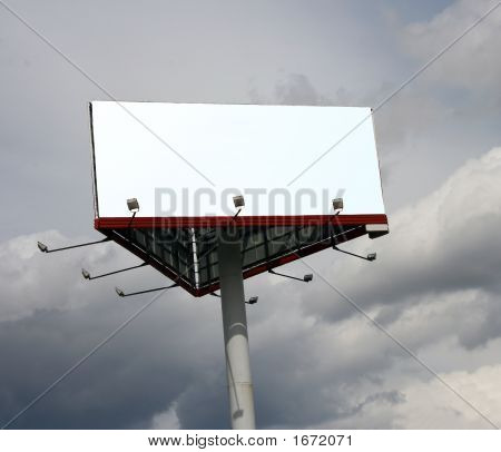 Werbung Board.
