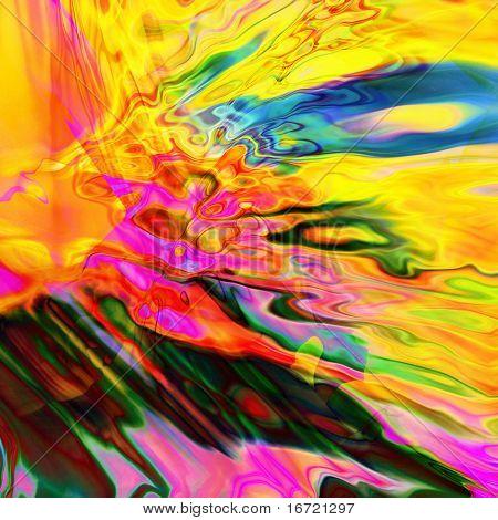 arte abstrata arco-íris de fundo