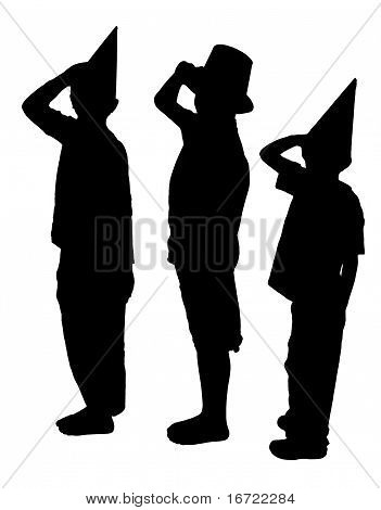 Sillouetted Salutes