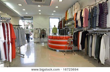 moderne Shop Interieur Foto