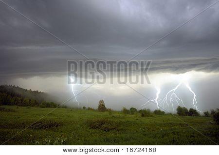the storm landscape image