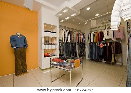 the cloth boutique interior photo