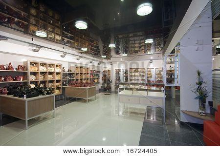 imagen interior tienda moderna
