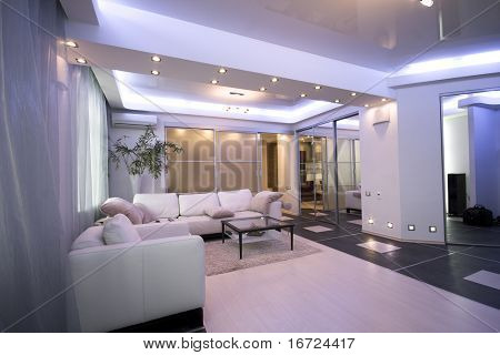 modernes Apartment Interieur Foto
