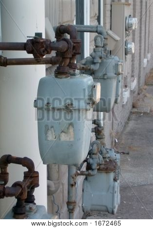 Old Water Meters