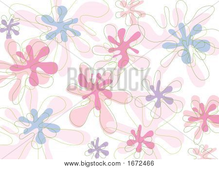 Soft Pink Blooms