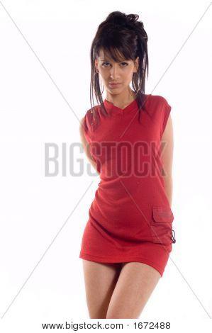 Hot Brunette Girl