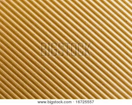 Corrugated paper background.