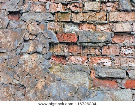 The old brickwork.