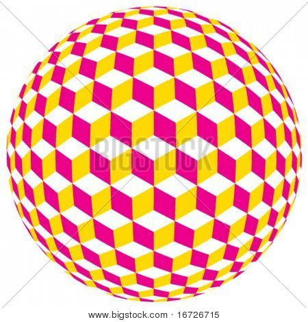 Spherical cubes.