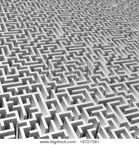 Maze background.