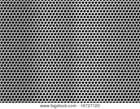 Metall net nahtlose Textur Hintergrund.
