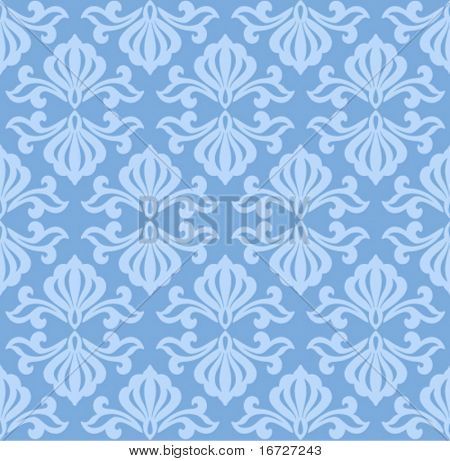 Floral seamless ornate background.