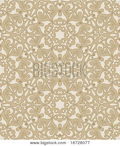 Floral seamless ornate background