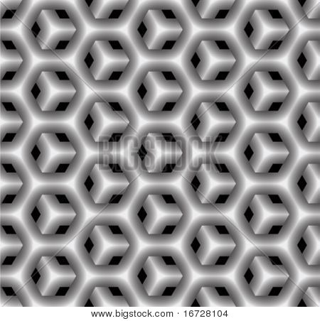Geometrical seamless pattern. (See more seamless patterns in my portfolio).