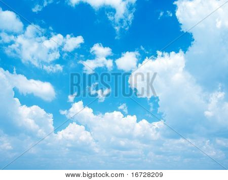 Clouds background.