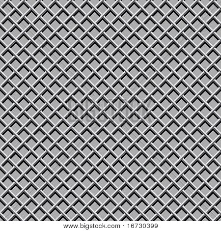 Metal net seamless pattern.