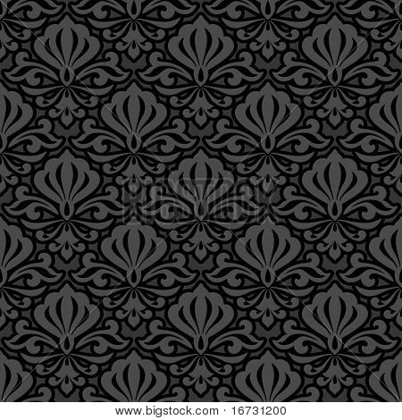 Seamless floral background for continuous replicate.