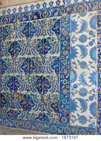 Iznik Tiles, Intricate Pattern
