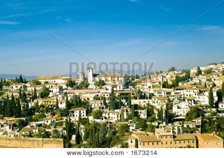 View At Old City Of Granada