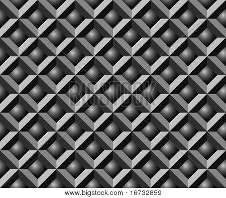 Abstract seamless geometrical pattern - vector background for continuous replicate.