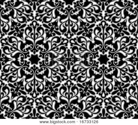 Seamless floral Pattern - Vektor Hintergrund für kontinuierliche replizieren.