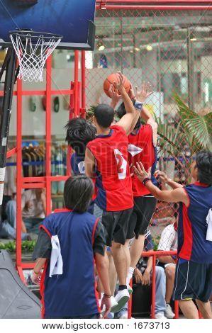 Basketball-Spiel