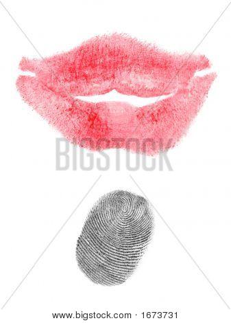 Kiss And Fingerprint