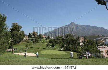 Aloha golf course en Marbella