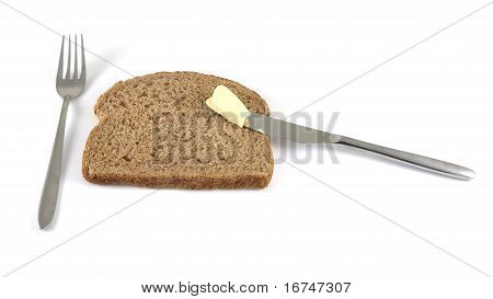 Buttering A Sandwich