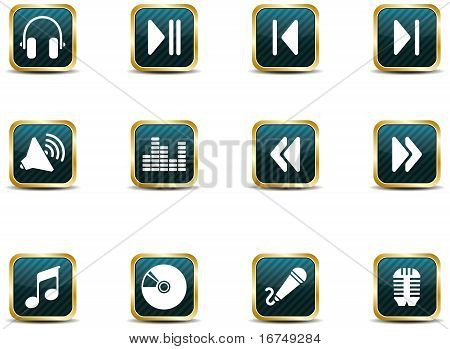 App Style Music Icons