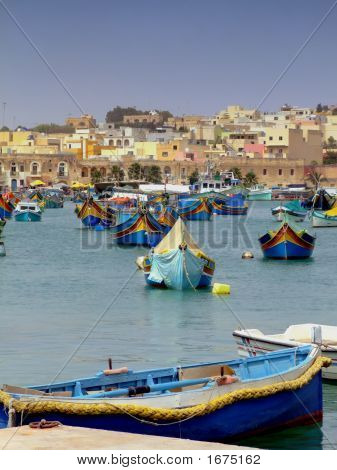 Malta Fishing Harbour