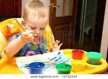 Drawing A Boy