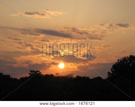 Beautiful Blue Sunset