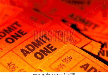 Geben Eins Tickets