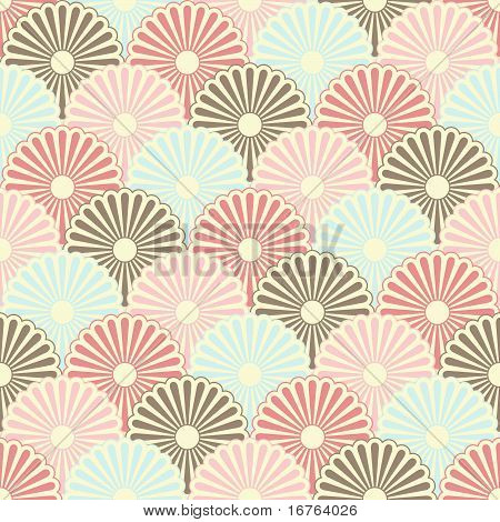 Seamless japanese vintage pattern