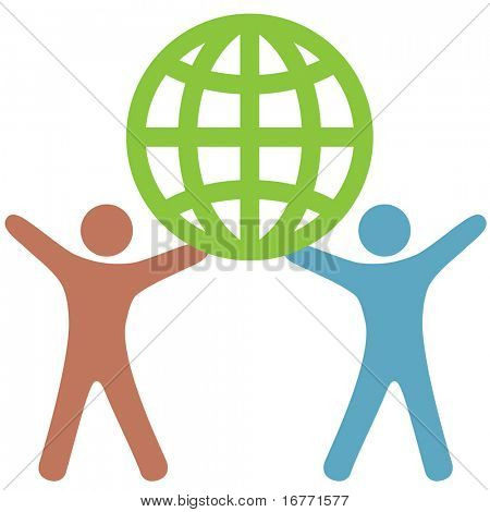 Multicultural Diversity Gender Neutral People of Color Support & Celebrate the Environmental Green Earth