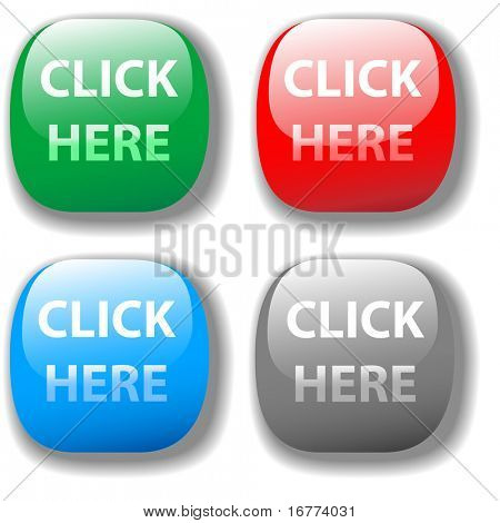 Choose from 4 CLICK HERE buttons website set