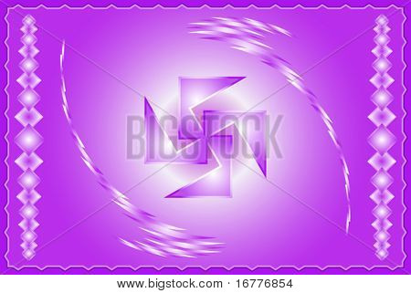 Swastica Abstract Background