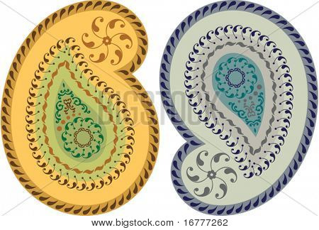 Paisley Design (can be used for Textile, Batik Print)