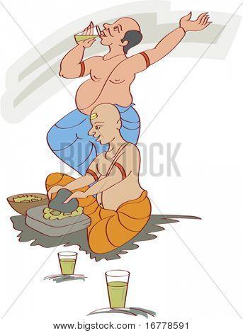 Bhang Ghoto men, Shivratri festival