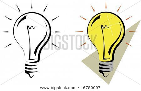 Calligraphic Bulb